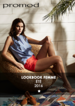 Catalogues et collections Promod : Lookbook Eté 2016