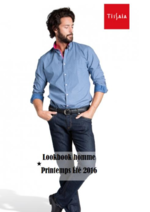 Promos et remises  : Lookbook homme printemps été 2016