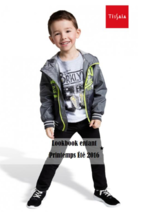 Promos et remises  : Lookbook enfant printemps été 2016