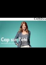 Catalogues et collections Caroll : Lookbook Cap sur l'été Printemps-Été 2016