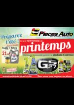 Promos et remises Pièces Auto : Grand nettoyage de printemps