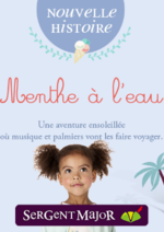 Catalogues et collections Sergent Major : Lookbook enfant Menthe à l'eau