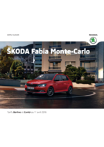 Catalogues et collections Skoda : La Skoda Fabia Monte-Carlo