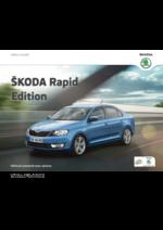 Catalogues et collections Skoda : Skoda Rapid Berline edition