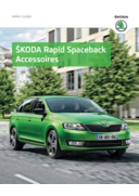 Catalogues et collections Distributeurs Skoda PARIS : Les accessoires de la Skoda Rapid Spaceback