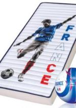 Promos et remises  : Optez pour le matelas Foot Euro 2016