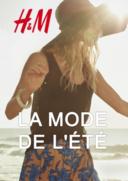 Catalogues et collections H&M Paris 120 rue de Rivoli : Lookbook femme La mode de l'été