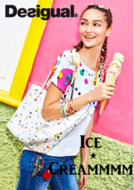 Catalogues et collections Desigual : Lookbook Ice cream