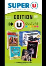 Prospectus Super U : Édition U culture