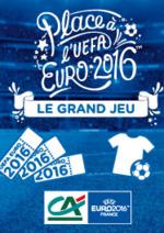 Jeux concours Crédit Agricole : Tentez de gagner votre place pour l'EURO 2016