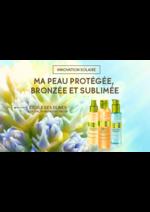 Catalogues et collections Yves Rocher : Hello soleil, protégez votre peau à partir de 6,90€