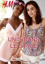 Catalogues et collections H&M : Le lookbook Femme Unis dans le style