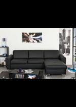 Promos et remises Conforama : -50% sur le canapé d'angle fixe Lexx !!!