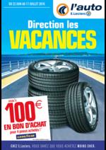 Prospectus L'auto E.Leclerc : Direction les vacances
