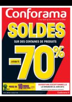 Prospectus Conforama : Soldes jusqu'à -70%