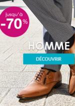 Promos et remises Chaussea : Soldes jusqu'à -70% Homme