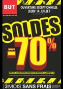 Prospectus BUT Loches : Soldes jusqu'à -70%