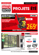 Prospectus Brico Dépôt CHARTRES - LUISANT : Projets été