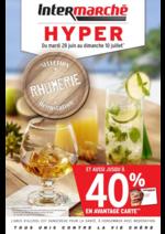 Prospectus Intermarché Hyper : Jusqu'à 40% en avantage carte