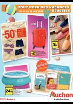 Prospectus Auchan : Tout pour des vacances réussies