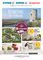 Prospectus Super U : Bienvenue en Touraine