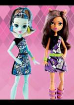 Promos et remises  : -50% sur la 2ème poupée Monster High