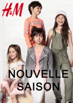 Catalogues et collections H&M : Lookbook enfant Nouvelle saison