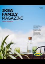 Promos et remises  : Ikea Family Magazine été 2016