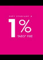 Bons Plans Crédit Agricole : Le prêt étudiant à 1% TAEG fixe