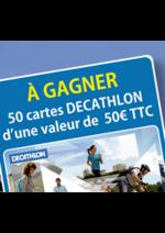 Bons Plans Profil + : Jusqu'à 80€ à gagner en carte Decathlon