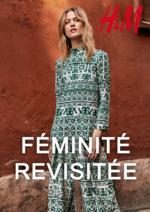 Catalogues et collections H&M : Lookbook femme Féminité revisitée