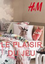 Catalogues et collections H&M : Lookbook home Le plaisir du jeu