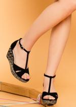 Promos et remises Eram : Les sandales compensées jusqu'à -70%