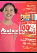 Prospectus Auchan : La rentrée que j'aime