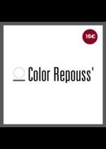 Bons Plans Vog coiffure : 1 Color Repouss' offert