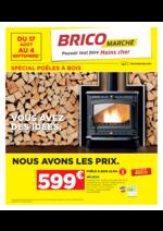 Prospectus Bricomarché : Spécial poêles à bois