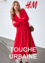 Catalogues et collections H&M : Lookbook femme touche urbaine