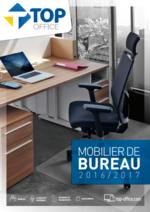 Catalogues et collections Top office : Catalogue Mobilier de Bureau 2016-2017