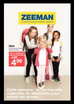 Prospectus Zeeman : Nouvelle collection enfant