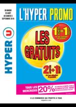 Prospectus Hyper U : L'Hyper Promo: Les Gratuits 2+1 et 1=1
