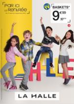 Prospectus La Halle aux Chaussures : Par ici la rentrée - CHAUSSURES