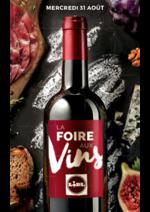Prospectus Lidl : La Foire aux vins LIDL !
