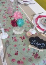 Promos et remises  : Table du mercredi : Liberty