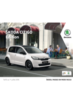 Catalogues et collections Skoda : La Skoda Citigo Edition