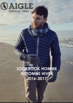Catalogues et collections Aigle : Lookbook homme automne hiver 2016-2017