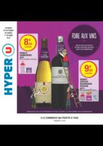 Prospectus Hyper U : Foire aux vins