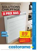 Prospectus Castorama PARIS 20 : Solutions Chauffage à prix bas