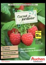 Promos et remises  : Carnet du jardinier