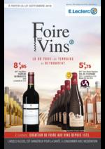 Prospectus E.Leclerc : Foire aux vins