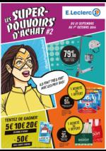 Prospectus E.Leclerc : Les super-pouvoirs d'achat #2
